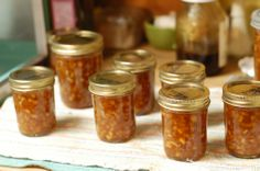 Honey Lemon Marmalade, which the author states is worth the work that went into making it.  She used regular pectin, but Pomona's pectin might be easier to use when you are using honey rather than sugar.