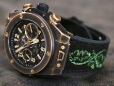 First Hublot Bronze Case: the New Hublot Big Bang Bavaria | Perpétuelle #luxurywatches