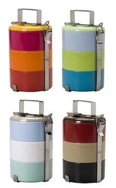 Bento Box This stacking lunch box is great for a picnic or to take snacks to work. $34.00