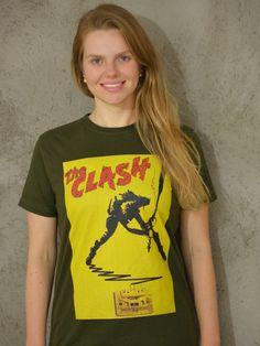 The Clash - Verde escuro - algodão orgânico