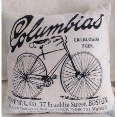 Vintage vankúš Columbias 01 - biely