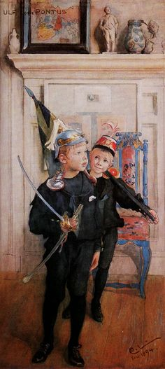 ART & ARTISTS: Carl Larsson - Part 3