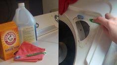Onderhoud wasmachine - interessante commentaren - wit azijn als wasverzachter en baking soda als wasmiddel...!