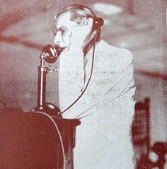 Mr. Jinnah attends a phone call