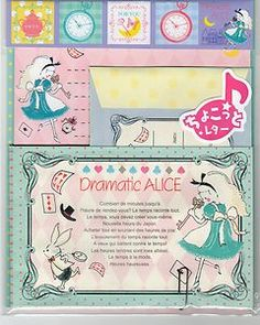 Kawaii Japanese Letter Set Dramatic Alice Cute Paper Craft Fairy Tales