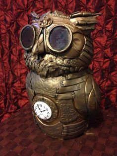This Steam Punk Owl would look so awesome as a tattoo