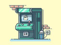 Arcade Machine°  by catalyst