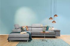 Woonstijl Modern & Design | Hoekbank Sonny | Eijerkamp | #wooninspiratie #woontrends #interieur