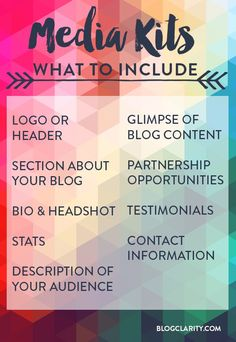 What's a Media Kit? Before you start creating a blogger media kit, you need to know the basics: what exactly a media kit is, why you need one, and what to include. Consider this post your Media Kit 101! Small business tips, entrepreneur, #biz #smallbusiness #succeed