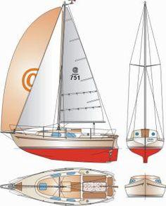 Koliber - 7,5 m jacht do turystyki morskiej - 1