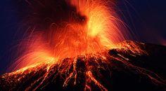 【F】火山。地球が作った造形物。
