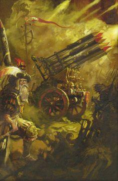 Risultati immagini per warhammer fantasy art Fantasy Battle, Fantasy Warrior, Fantasy Rpg, Medieval Fantasy, Fantasy Artwork, Fantasy World, Dark Fantasy, Warhammer Empire, Warhammer Art