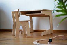 Kids Room Furniture, Wooden Furniture, Children Furniture, Cnc Wood, Kids Wood, Diy Desk, Kids Corner, Diy For Kids, Kids Bedroom