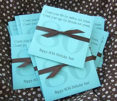 Birthday Favors - Adult Birthday Favors - Lottery Ticket Birthday Favor - Favors for - Birthday - Birthday. Personalized Party Favors For Adults 80th Birthday Party Favors, 80th Birthday Decorations, Birthday Crafts, 70th Birthday, Birthday Celebration, Birthday Invitations, Birthday Ideas, Birthday Lunch, Birthday Memes