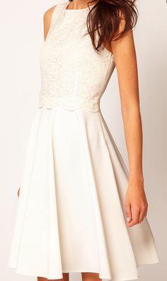 Robe pour mariage mairie on pinterest maxi dresses for Robe blanche midi pour mariage