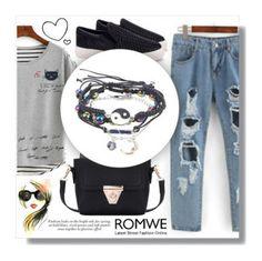 """***"" by ksu1-773 on Polyvore featuring мода и romwe"