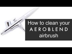 How do I clean my AEROBLEND airbrush stylus? - YouTube