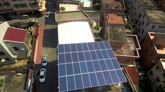 Dejiu Solar KW Rooftop Solar Energy System in Foshan. Solar Energy System, Solar Panels, Rooftop, News, Outdoor Decor, Solar Power System, Sun Panels, Rooftops, Solar Power Panels