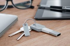 Kii is a compact charger-connector that fits on a keychain for ultimate convenience, accessibility and mobility