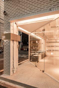 Home Decoration For Christmas Facade Design, Exterior Design, Commercial Interiors, Commercial Design, Fashion Retail Interior, Cafe Shop Design, Cafe Exterior, Cafe Concept, Shop Facade