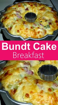 This Bundt Cake Breakfast recipe is perfect for brunch. Ham, tater tots and cheese are baked into a scrumptious slices of deliciousness. This BUNDT CAKE BREAKFAST from my grandmother recipes book seemed like it would Breakfast Items, Breakfast Dishes, Breakfast Ideas With Eggs, How To Make Breakfast, Best Breakfast, Frozen Breakfast, Blueberry Breakfast, Breakfast Bundt Cake, Comida Latina