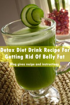 If you are looking for a way to burn belly fat and get a flat belly, then this recipe is for you. This is a detox recipe that will help the body flush out wasteful substances and help to give the body a refreshing, renewing experience...
