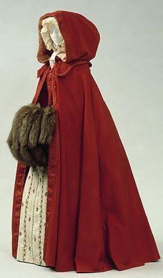 Cloak early georgian 1715 - 1750