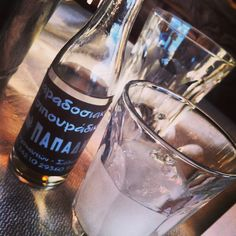 Greek traditional drink Tsipouro