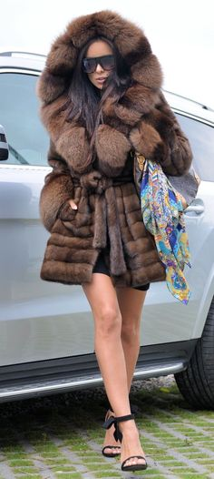 Fox fur coat Fur Site 9916 Pinterest Fox fur, Fur and Fur coat