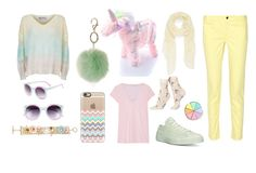 """""""Pastel Chic"""" by discobubbles ❤ liked on Polyvore featuring 10 Crosby Derek Lam, Current Mood, Dorothy Perkins, Wildfox, Casetify, Converse, Tildon, Mixit, Happy Socks and Nordstrom"""