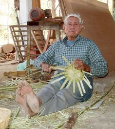 Mexican Basketweaver, men of the world