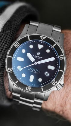 Our full dive range built from titanium and ceramic and featuring a Seiko automatic movement or an updated model with optional Swiss movement. Best Cheap Watches, Affordable Automatic Watches, Best Affordable Watches, Automatic Watches For Men, Best Watches For Men, Cool Watches, Rolex Watches, Black Watches, Watch Companies