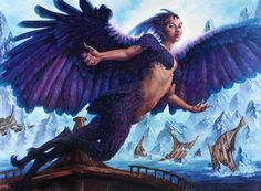 Magic Art of the Day - Siren of the Fanged Coast by Michael C Hayes - Check out the gallery: