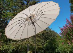 Suojaa tehkkaasti auringolta. #aurinkovarjo #tasalankaihdin