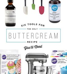 6 Tools for the Only Buttercream Recipe You'll Ever Need + Delicious Buttercream Recipe | eBay