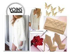 """""""Yoins 1"""" by april-lover ❤ liked on Polyvore featuring moda, White Label ve yoins"""