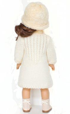 Pop kleren patroon jas patroon voor American Girl pop door LelleModa