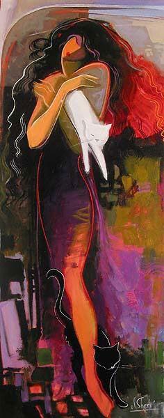 irene sheri paintings | IRENE SHERI - PEINTRE - UKRAINE