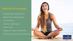 7 Benefits of Laughing : 1.) #Laughing Lowers #Blood Pressure 2.) Reduce #Stress 3.) Fun Ab #Workout and many more #health #healthtips