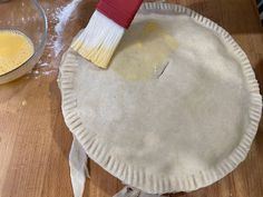 Made with a regional cheese, this humble and homely Lancashire cheese and onion plate pie, from Only Crumbs Remain is full of flavour and comfort. Lancashire Cheese, Cheese And Onion Pie, Cheese Recipes, Cooking Recipes, Baked Dinner Recipes, Pastry Brushes, Pie Plate, Nice Things, Cheesecakes