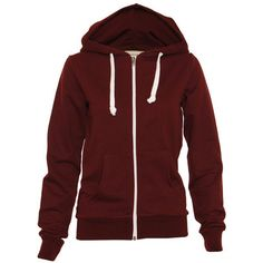 I really must purchase a burgundy hoodie!