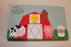 Custom Order, Barn Yard Birthday Party Invitations.
