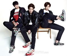 Kang Seung Yoon, Kim Jin Woo and Nam Tae Hyun Winner - Harper's Bazaar Magazine November Issue '14