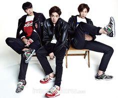 Kang Seung Yoon, Kim Jin Woo and Nam Tae Hyun Winner - Harper's Bazaar Magazine November Issue '14