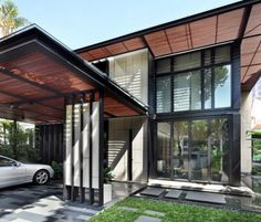 One Tree Hill Residence With Comfortable Modern Interiors | DigsDigs