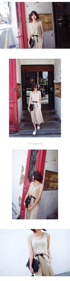 モダールルーズタンクトップ&ワイドパンツセットアップ・全3色パンツ・ズボンパンツ・ズボン レディースファッション通販 DHOLICディーホリック [ファストファッション 水着 ワンピース]