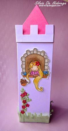 Silvia Scrap: La torre de Rapunzel