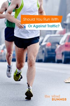 Should You Run With Or Against Traffic? Running On Treadmill, Running Workouts, Running Tips, Road Running, Race Training, Training Plan, Running Training, Beginners Cardio, Running For Beginners