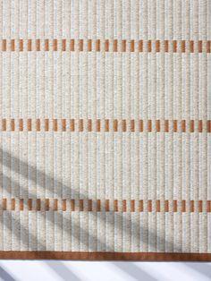 Roman Curtains, Color Feel, Tear, Patterned Carpet, Carpet Design, Nordic Design, Texture Design, Weaving Techniques, Retail Design