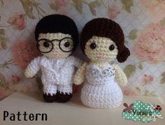 Hey, I found this really awesome Etsy listing at https://www.etsy.com/listing/201355963/crochet-pattern-doll-wedding-amigurumi